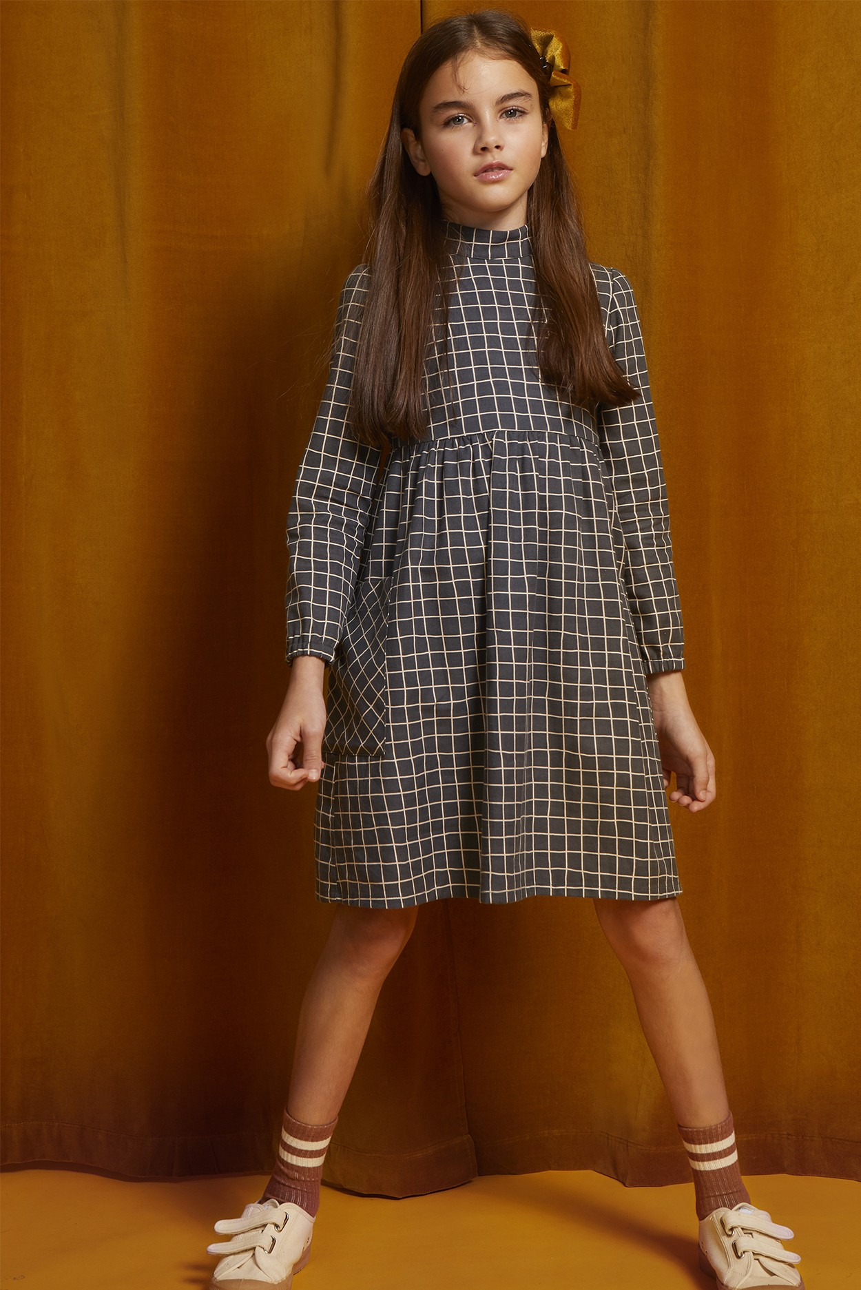 VIYELLA CHECK DRESS