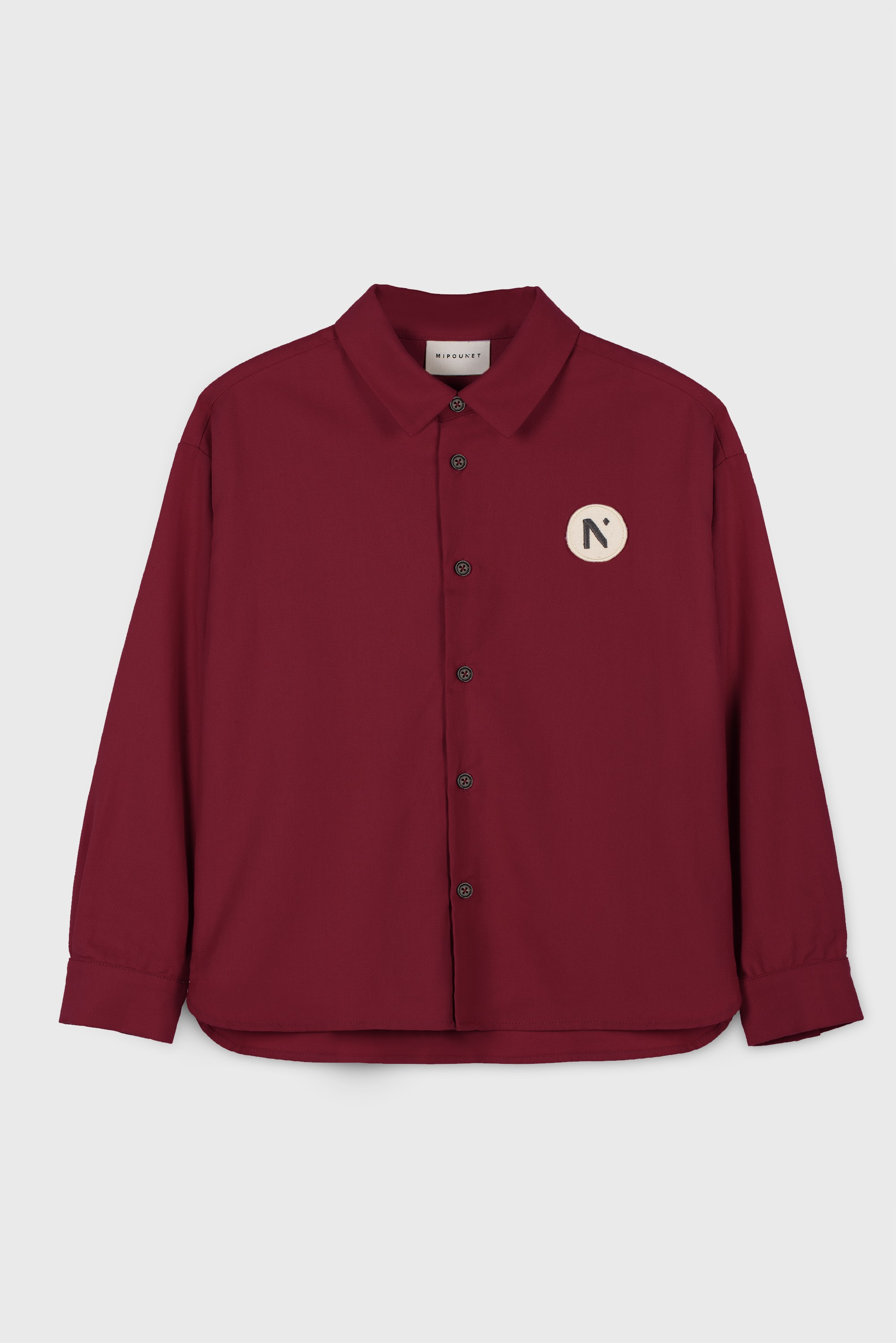 RED COTTON VIYELLA SHIRT