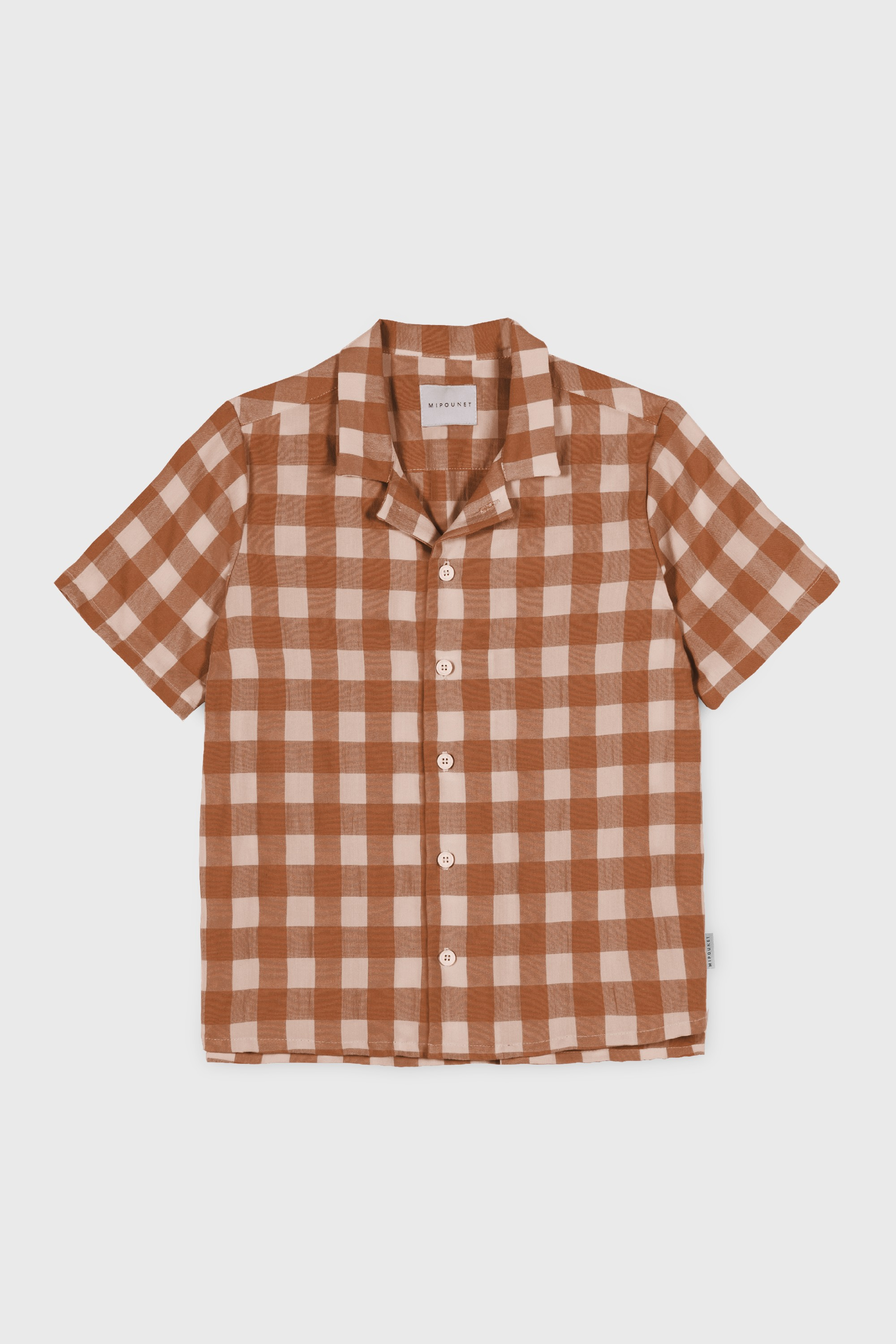 RUST VICHY SHIRT